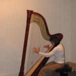 Isabelle Cureau : harpe celtique