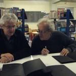 Jean-Michel Marchetti et Bernard Noël