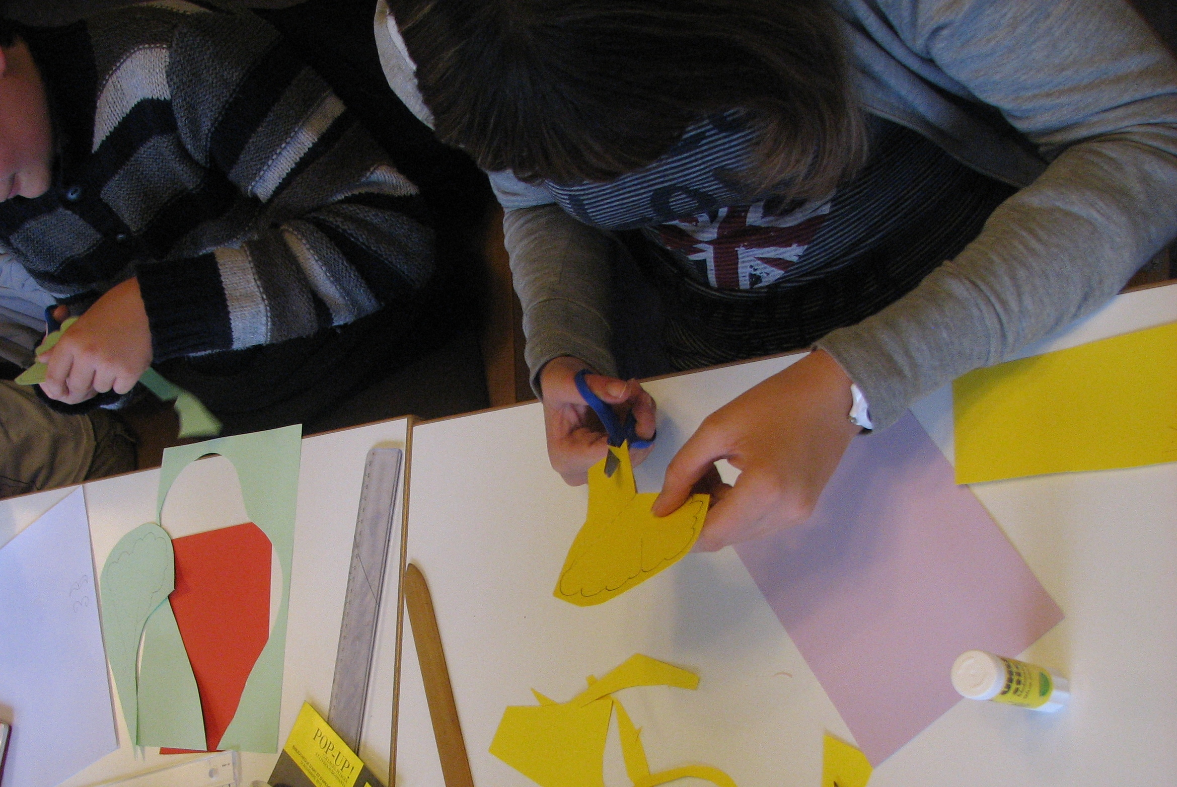 Enfant Romorantin : atelier à la Médiathèque